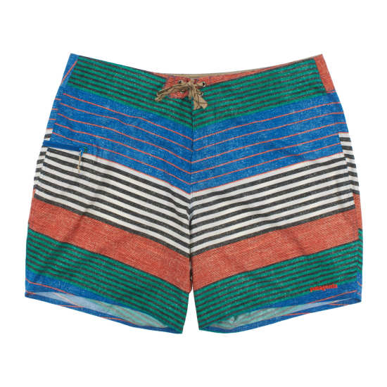 """M's Printed Stretch Planing Board Shorts - 18"""""""