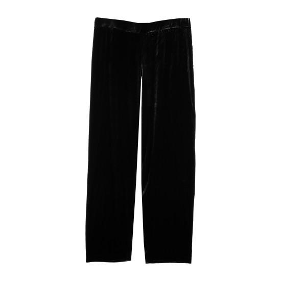 Washable Stretch Velvet Stretch Velvet [Lined Styles] Pant