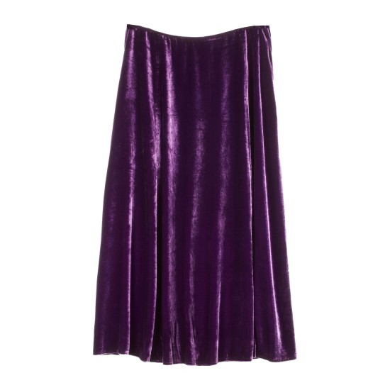 Washable Stretch Velvet Stretch Velvet Skirt