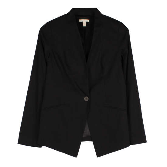 Organic Linen & Viscose Stretch Jacket
