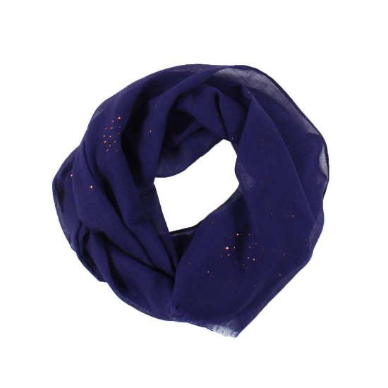 Galaxy Foil Wool Scarf