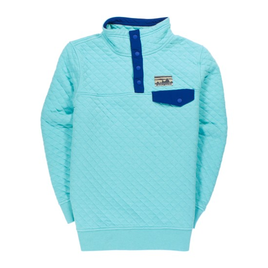 W's Cotton Quilt Snap-T® Pullover