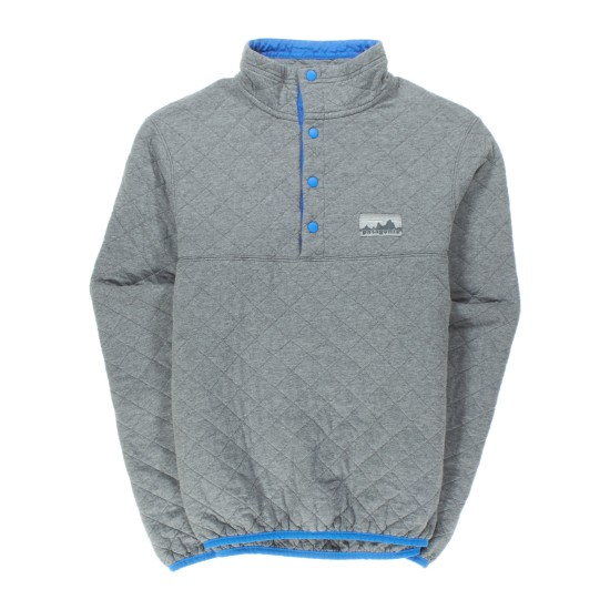 M's Diamond Quilt Snap-T® Pullover