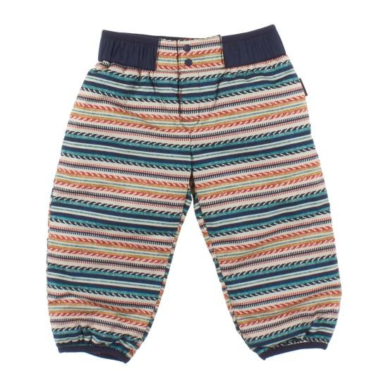 Baby Reversible Puff-Ball Pants