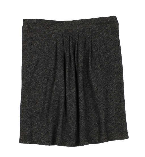Organic Cotton & Wool Bias Twist Skirt
