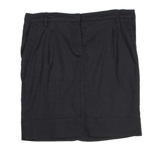 Linen Viscose Stretch Skirt