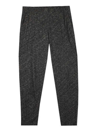 Striped Tencel Cotton Stretch Pant