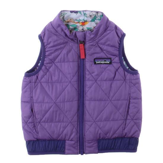 Baby Reversible Puff-Ball Vest