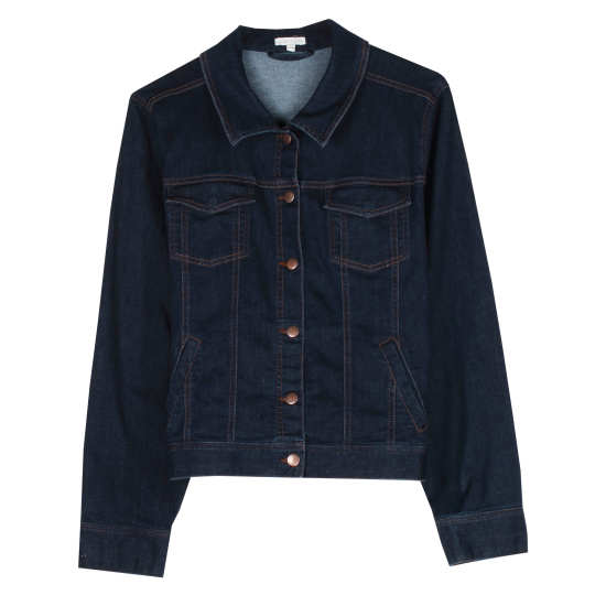 Organic Soft Stretch Denim Jacket