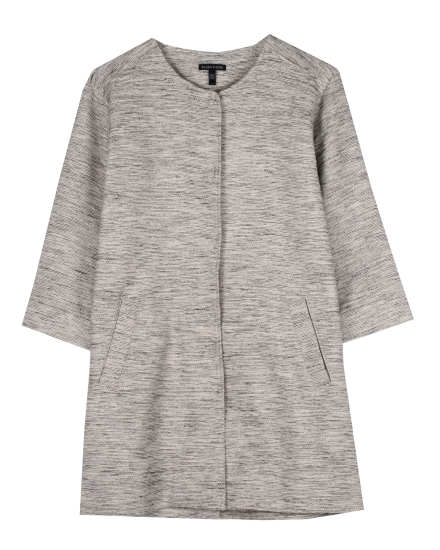 Woven Cotton Twist Jacket