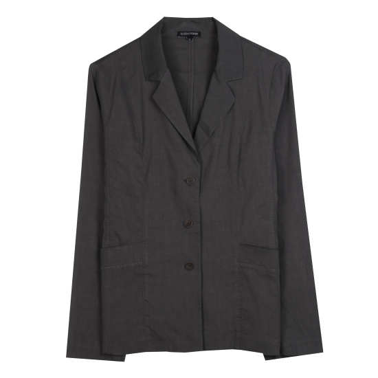 Linen Viscose Stretch Jacket