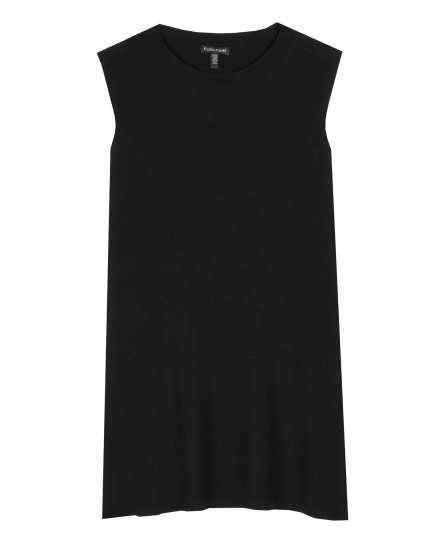 Washable Wool Crepe Dress