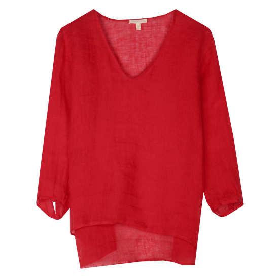 Linen Gauze Pullover