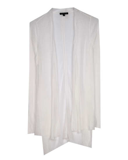 Sheer Viscose Linen Cardigan
