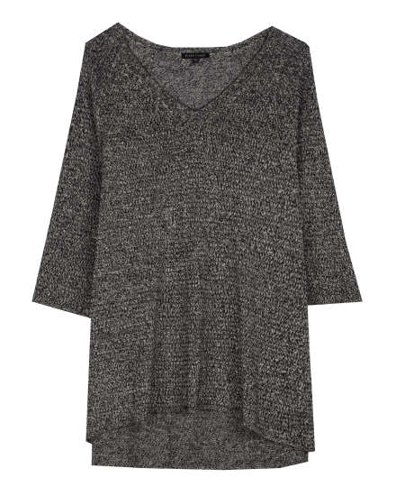 Washable Wool and Linen Twist Pullover