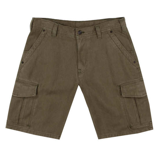 M's Iron Forge Hemp® Canvas Cargo Shorts - 11""