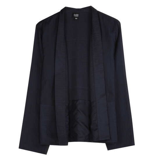 Quilted Silk Habutai Jacket