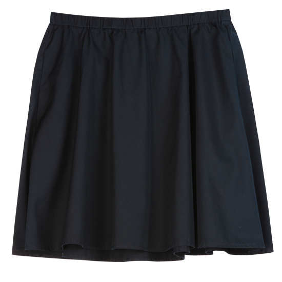 Organic Compact Cotton Skirt
