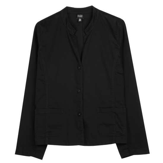 Washed Stretch Cotton Jacket