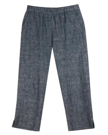 Channeled Cotton Knit Pant