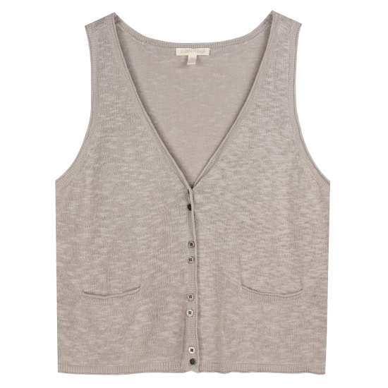 Linen Cotton Slub Tank