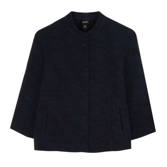 Artisanal Cotton Doubleweave Jacket