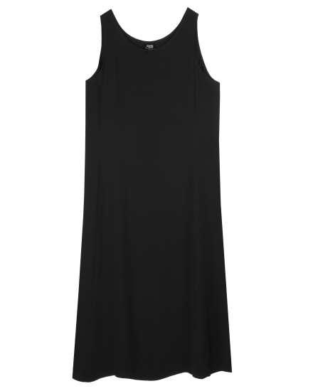 Heavyweight Silk Georgette Crepe Dress