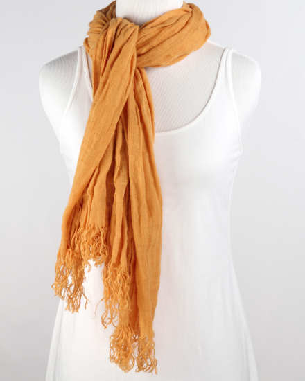 Doubleface Wool Cashmere Scarf