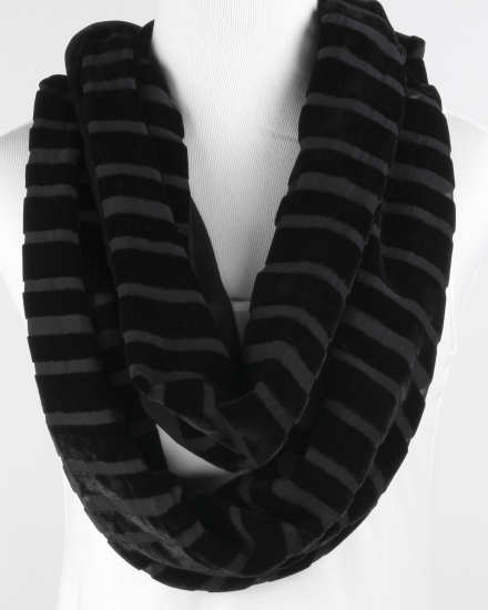 Washable Velvet Burnout Scarf
