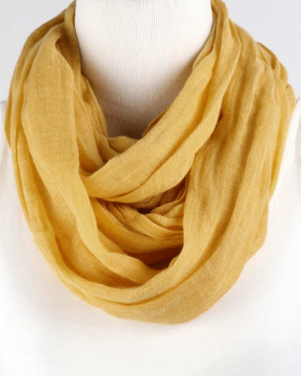 Washed Linen Scarf
