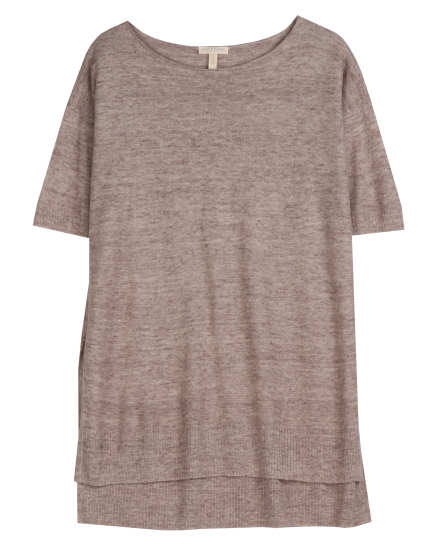 Airy Linen Melange Links Tunic