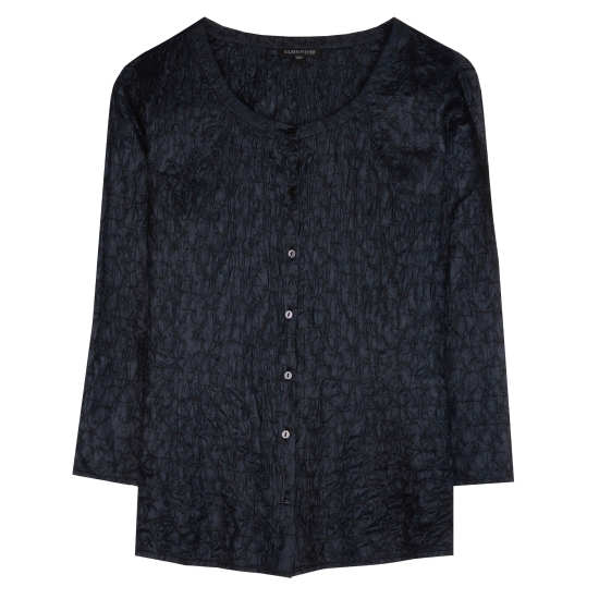 Scrumple Silk Tussah Blouse