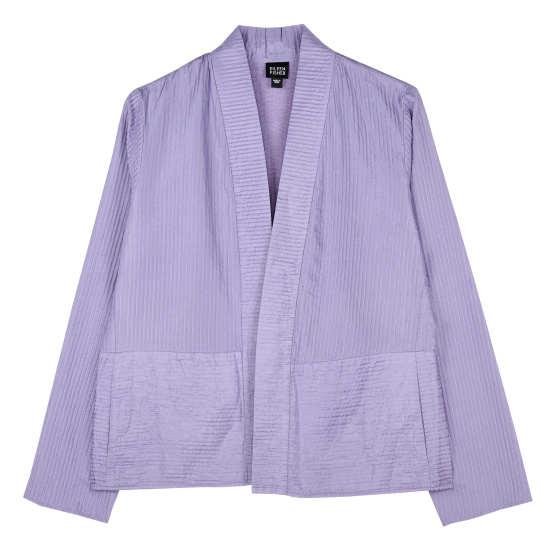 Quilted Silk Habutai Jacket