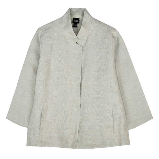 Rustic Silk Linen Jacket