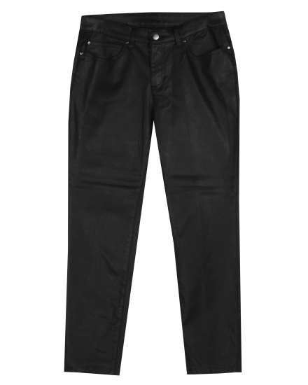 Waxed Organic Cotton Stretch Denim Pant