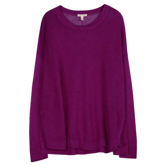Airy Organic Linen Pullover
