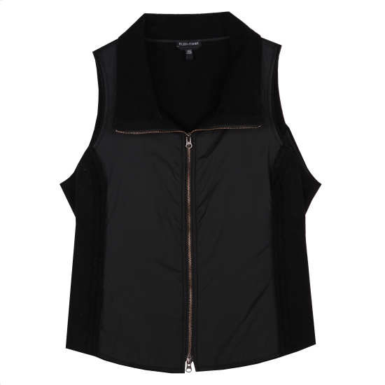 Lambswool Cotton Doubleface Vest