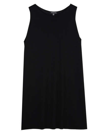 Washable Wool Crepe Jersey Dress
