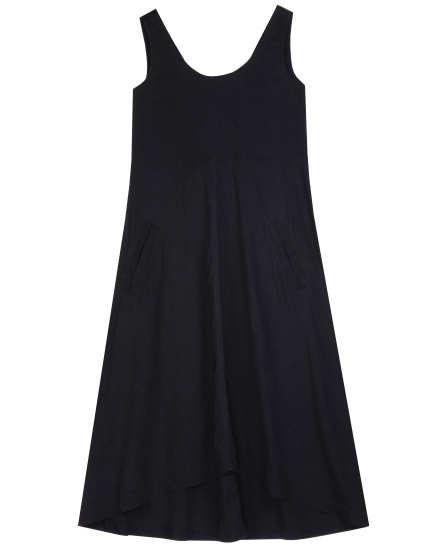 Linen Viscose Stretch Dress