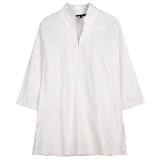 Linen Viscose Stretch Tunic