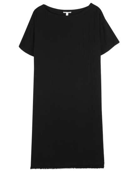 Linen Cotton Boucle Dress