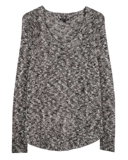 Cotton Linen Slub Speckle Pullover