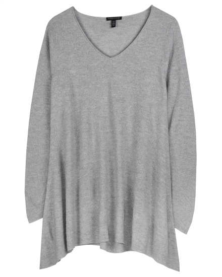 Washable Wool Fine Crepe Pullover