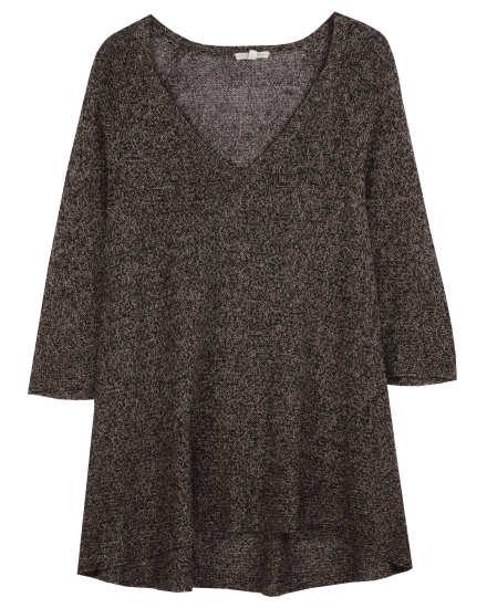Multi-Tonal Mesh Pullover