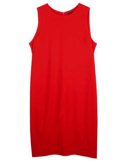 Boiled Wool Jersey Dress