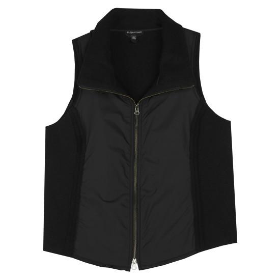Boiled Wool w/Parka Trim Vest
