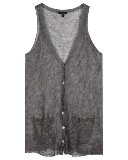 Precious Metal Mesh Vest