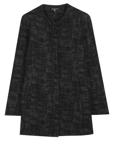 Crosshatch Cotton & Tencel Stretch Jacket