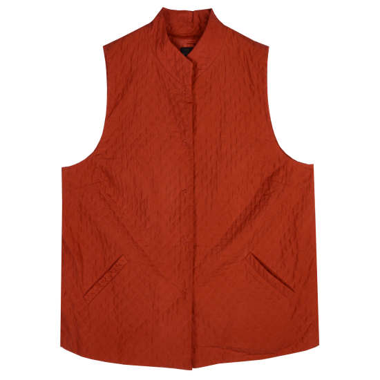 Soft Silk Diamond Vest