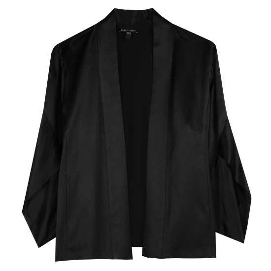Crepe Back Satin Jacket